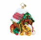 Christopher Radko Christmas Ornament - Festive Fido
