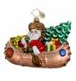 Christopher Radko Christmas Ornament - Paddle On