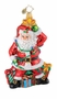 Christopher Radko Christmas Ornament - Santa's Light Plight
