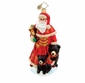 Christopher Radko Christmas Ornament - Burgundy Bruin