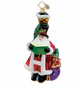 Christopher Radko Christmas Ornament - Caroling Claus