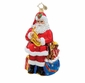 Christopher Radko Christmas Ornament - Santa's Solo