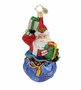 Christopher Radko Christmas Ornament - Nick Nack Gift Wrapped