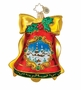Christopher Radko Christmas Ornament - Scenic Chime