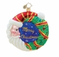 Christopher Radko Christmas Ornament - Bearded Celebrations