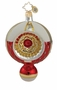 Christopher Radko Christmas Ornament - Golden Ruby Radiance