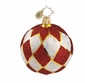 Christopher Radko Christmas Ornament - Holiday Harlequin Mini