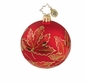 Christopher Radko Christmas Ornament - Ruby Scarlett Mini