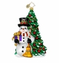 Christopher Radko Christmas Ornament - Fir & Frosty