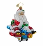 Christopher Radko Christmas Ornament - Jet Set Santa