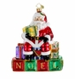 Christopher Radko Christmas Ornament - Block Party