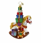 Christopher Radko Christmas Ornament - Wrappin' Rocker