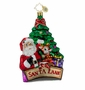 Christopher Radko Christmas Ornament - Santa Lane