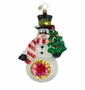 Christopher Radko Christmas Ornament - Glow in the Snow