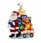 Christopher Radko Christmas Ornament - Showered with Toys