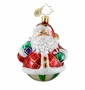 Christopher Radko Christmas Ornament - Rollin' Ruby Claus Gem