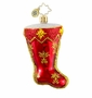 Christopher Radko Christmas Ornament - Starlight Stocking Gem