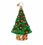 Christopher Radko Christmas Ornament - Crimson and Gold