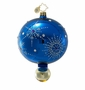 Christopher Radko Christmas Ornament - Snowflake Cascade Blue