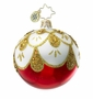 Christopher Radko Christmas Ornament - Draped in Gold Mini