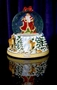 Christopher Radko Winter Forest Santa 150mm Snowglobe