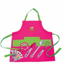 Curious Chef Girl Chef Cooking Set (11 pc.)