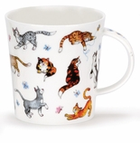 Dunoon Mug Cats Galore Mug - (16.2 Oz.)