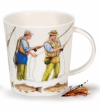 Dunoon Mug Fly Fishing Oversized Mug - (16.2 Oz.)