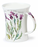 Dunoon Mug Cottage Flowers Lavander Mug (11.1 Oz)