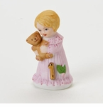 Enesco Growing Up Girls Blonde Age 1 Birthday Girl Figurine