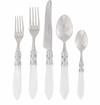 Vietri Aladdin Five-Piece Place Setting White - Brilliant
