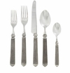 Vietri Capitol Pewter Flatware 5 Piece Place Setting