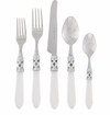 Vietri Aladdin Clear Five Piece Place Flatware Place Setting