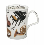 Roy Kirkham Concert (Lancaster) Bone China Mug Pair