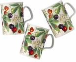 Roy Kirkham Sweet Cherry (Lancaster) Bone China Mug - Sold Individually