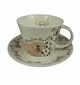 Roy Kirkham Jumbo Breakfast Cup & Saucer Set - Walkies