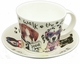 Roy Kirkham Animal Fashions Dog Jumbo Cup & Saucer Set