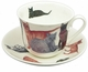 Roy Kirkham Cats Galore Jumbo Breakfast Cup & Saucer Set
