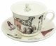 Roy Kirkham Dogs Galore Jumbo Breakfast Cup & Saucer Set