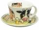 Roy Kirkham Please Shut the Gate Jumbo Cup & Saucer