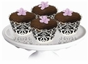 French Lace Die-Cut Cupcake Wraps (6)