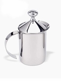 Stainless Steel Frothing Pitcher with Lid