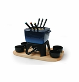 Swissmar Mont Blanc 15 Piece Meat Fondue Set - Blue