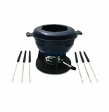 Swissmar Lucerne 10 Piece Meat Fondue Set - Blue