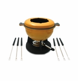 Swissmar Lucerne 10 Piece Meat Fondue Set - Yellow