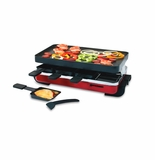 Swissmar 8 Person Red Classic Raclette Party Grill