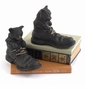 Bronze Cat-in-Boots Bookends Pair