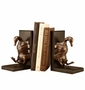 SPI Bronzed Brass Duck Tape Bookends