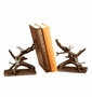 SPI Bronzed Brass Dragonfly Bookends