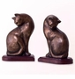 SPI Resin Cat Bookends